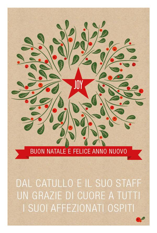 Pranzo Natale 2013 a Torino affacciati sulle sponde del Po - Ristorante Pizzeria Catullo
